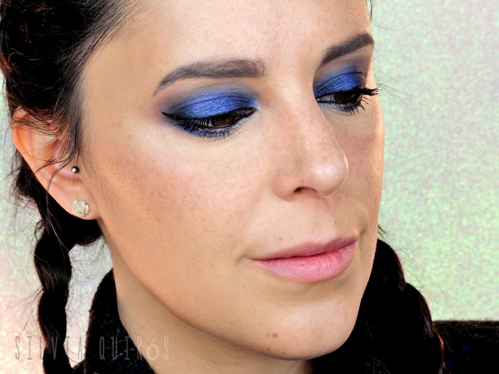 Maquillaje Azul Noche Intensa tutorial