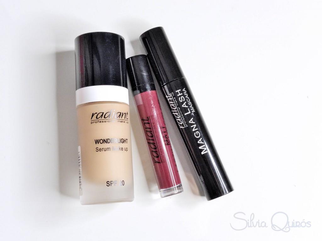 Nueva línea de maquillaje Radiant Makeup