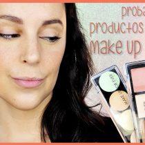 Probando productos de rostro de Make Up For Ever