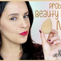 Probando la nueva Beauty Blender Nude y mi colección