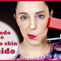 Probando la nueva base Synchro Skin de Shiseido