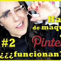 Probando Hacks de maquillaje de Pinteres #2