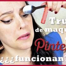 Trucos de maquillaje de Pinterest, funcionan?