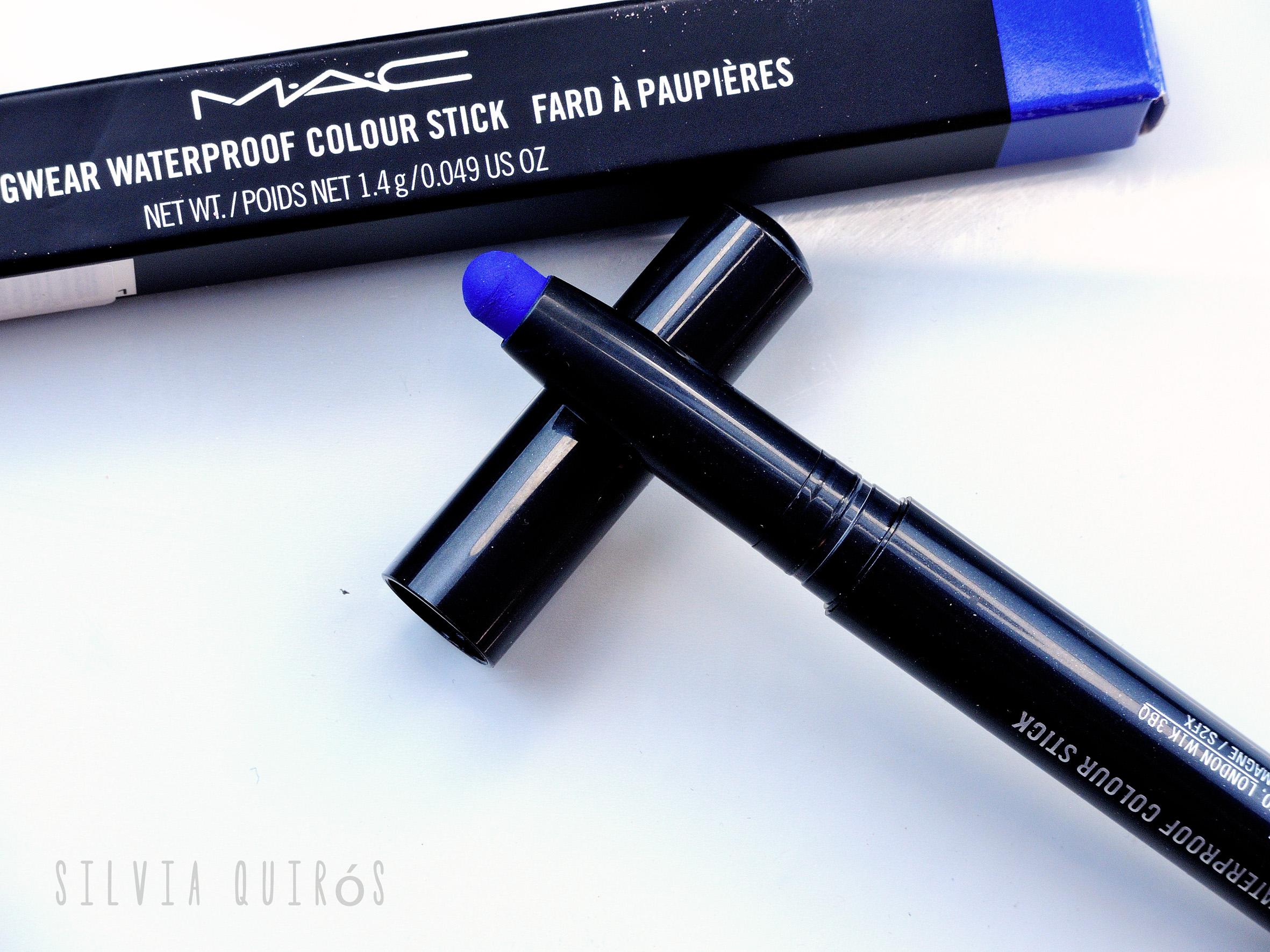 Probando colección Pro Longwear waterproof color sticks M∙A∙C