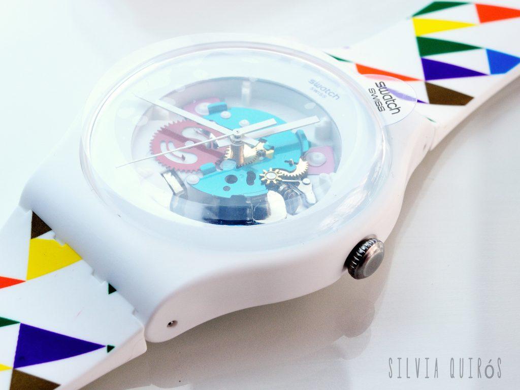 Reloj Swatch especial por los 75 años de El Corte Inglés