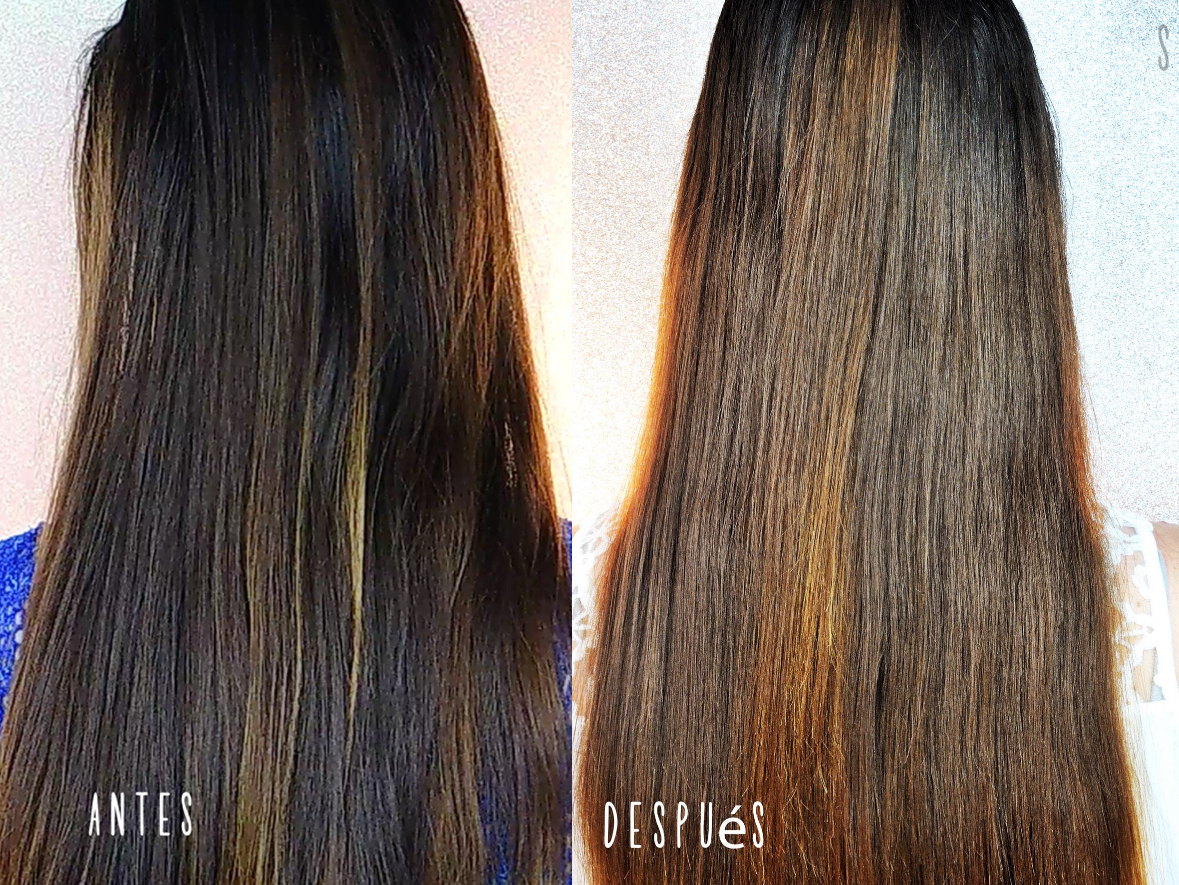 Reparando el pelo dañado de mi hermana con Moroccanoil