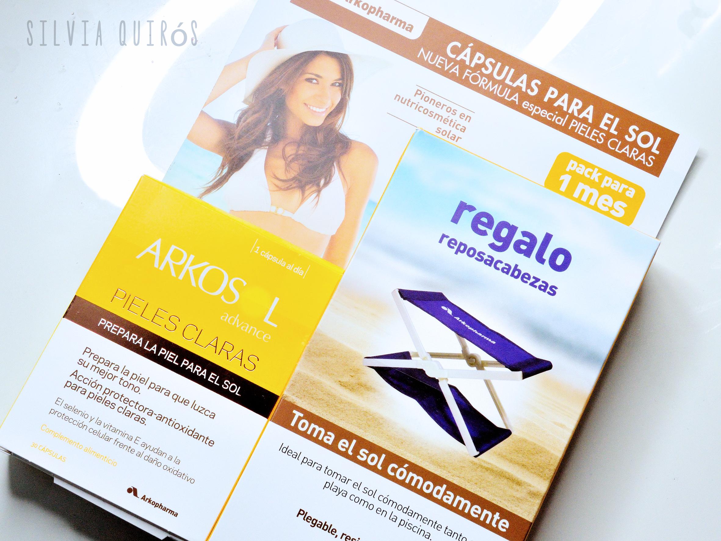Arkosol perlas antioxidantes para un mejor bronceado