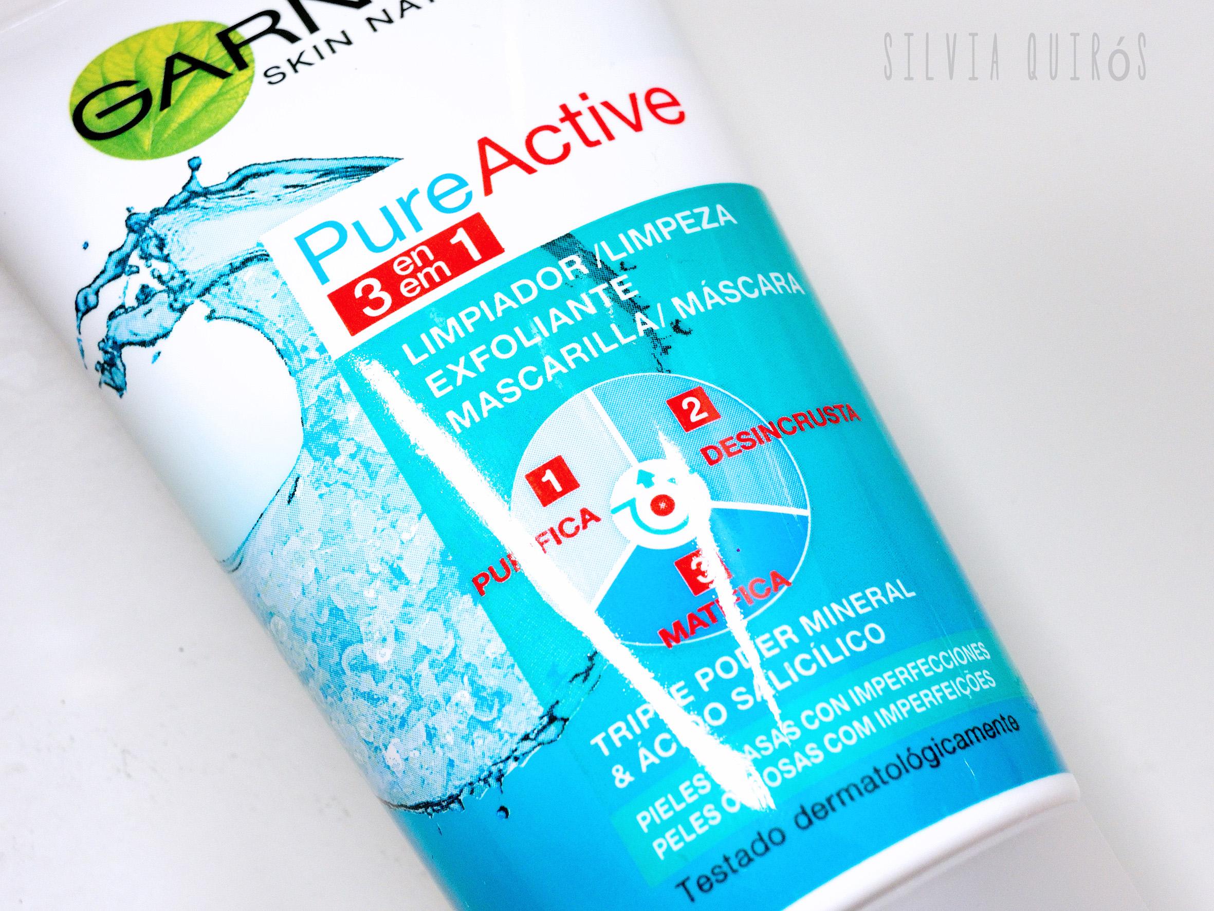 Nuevo Pure Active 3 en 1 de Garnier