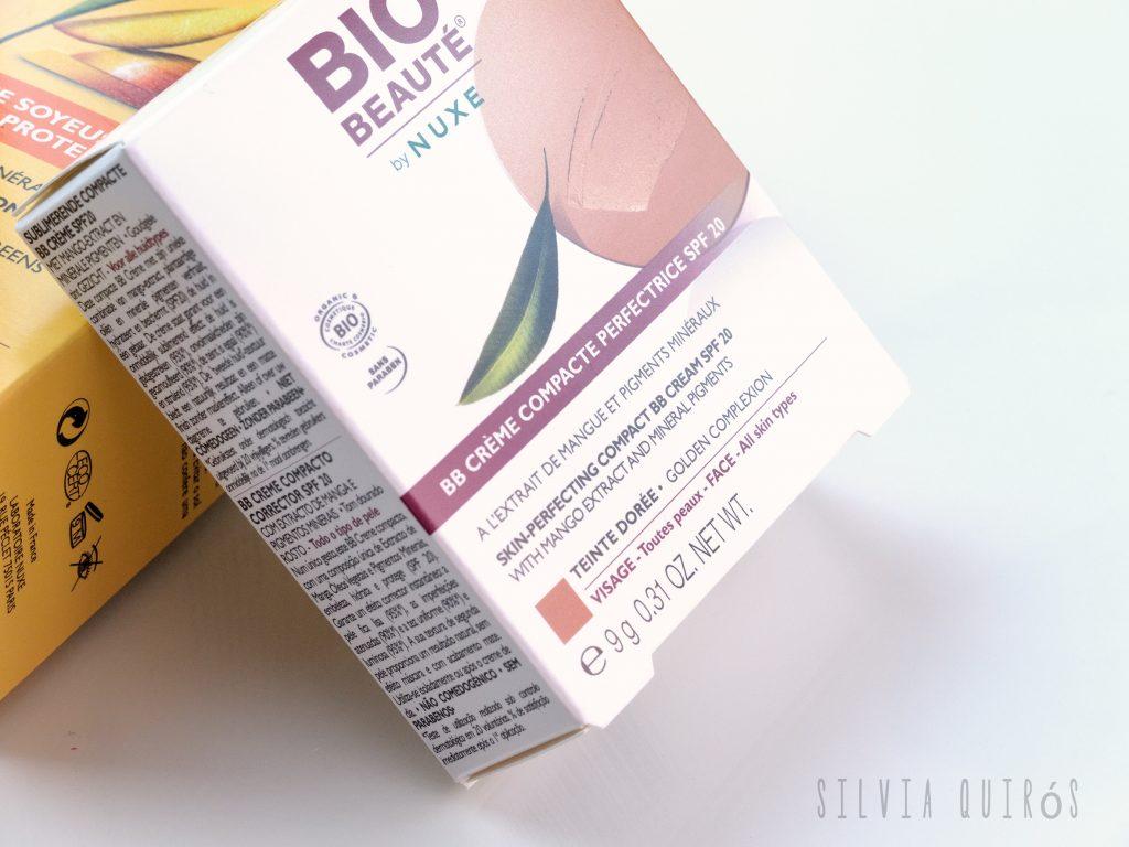 Protectores solares minerales de Bio-Beauté de Nuxe