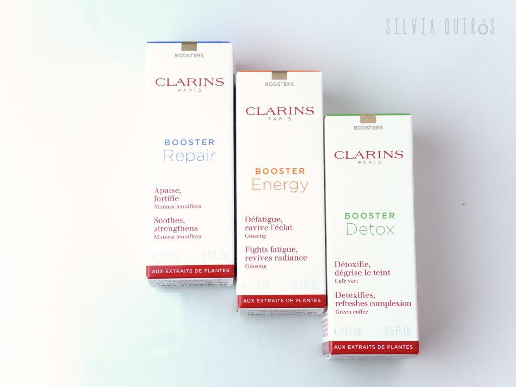 Nuevos Boosters de Clarins