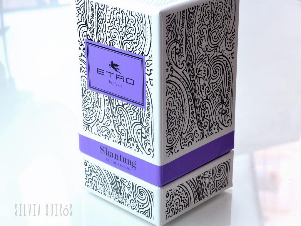 Shantung de Etro, perfume salvaje y del Oriente