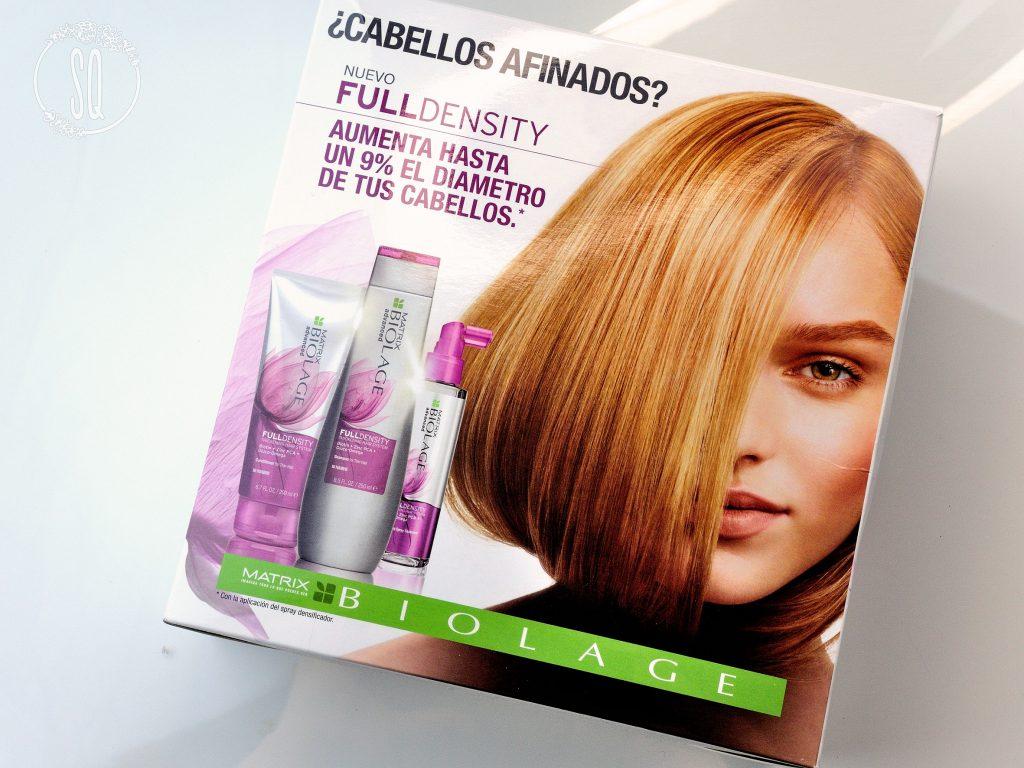 Más densidad en tu cabello con Full Density de Biolage