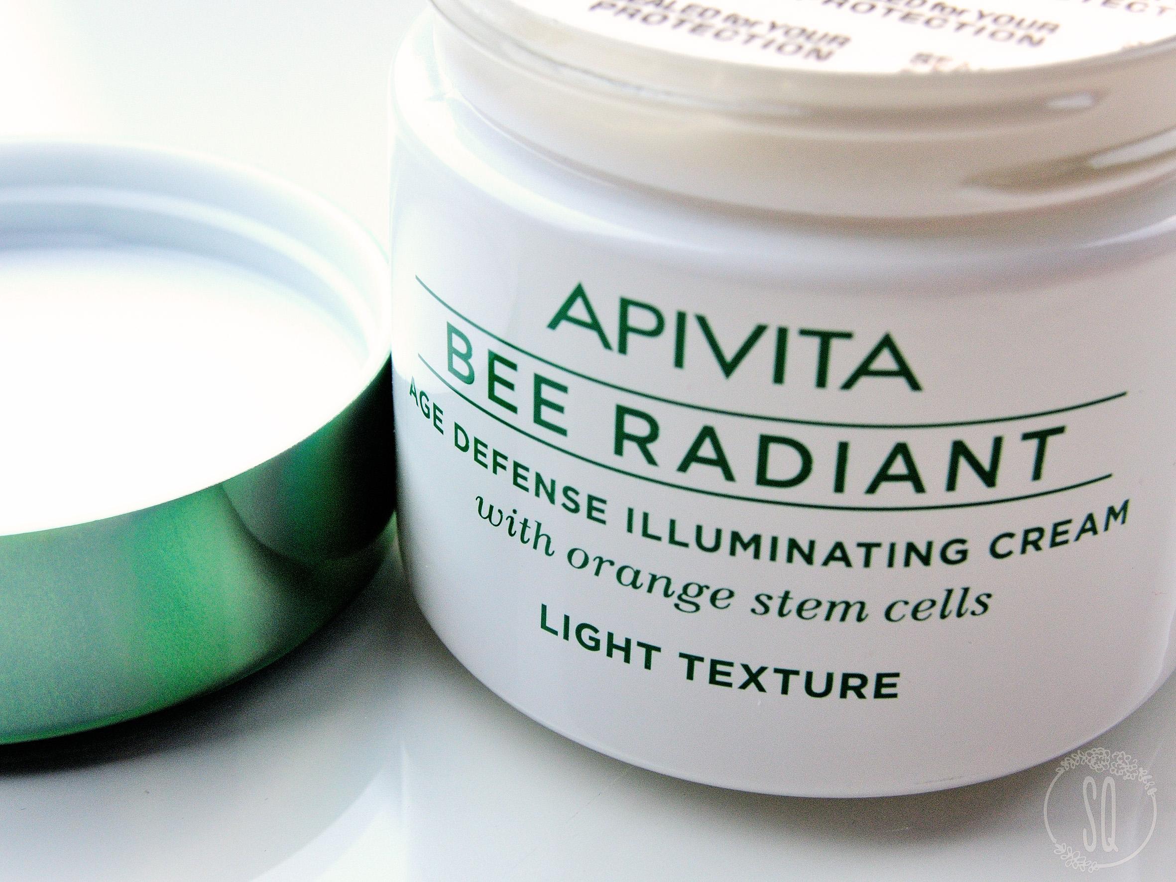Probando productos de Apivita