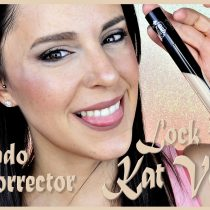 Probando el corrector Lock It de Kat Von D Beauty