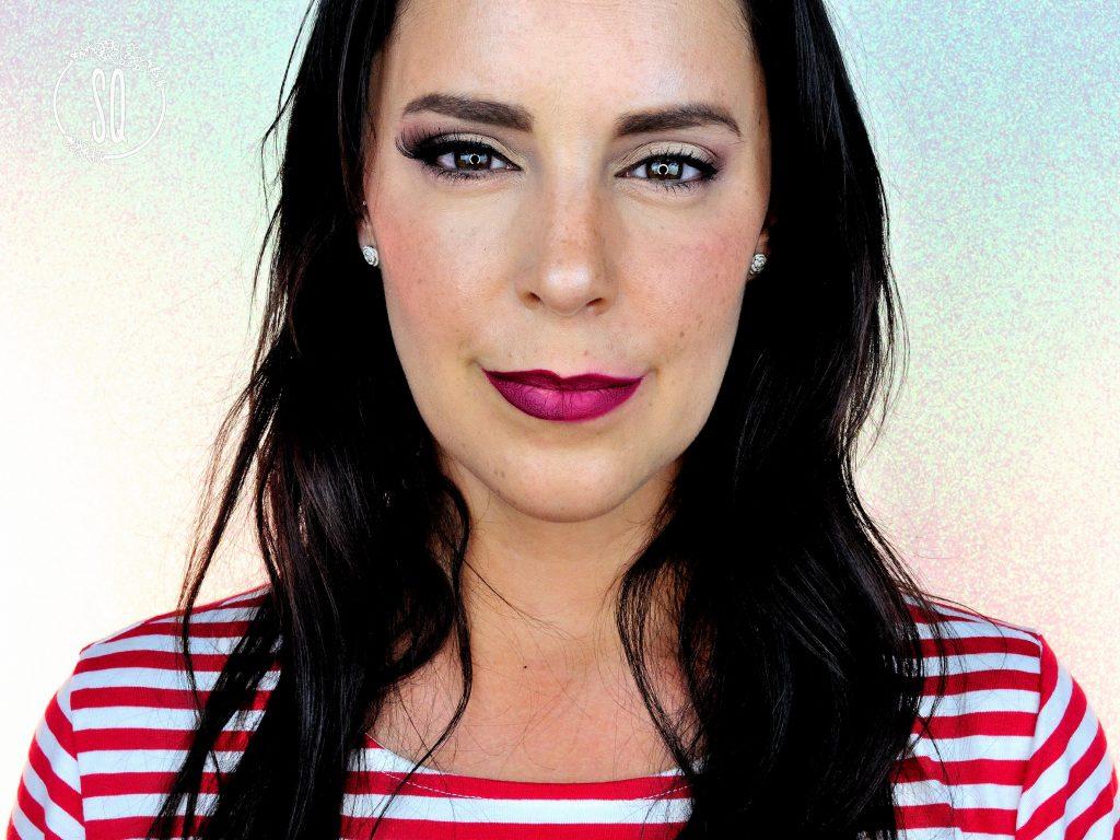 Maquillaje Sexy VS Dulce usando los mismos productos