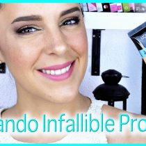 Probando la nueva base Infallible pro Glow de L'oreal