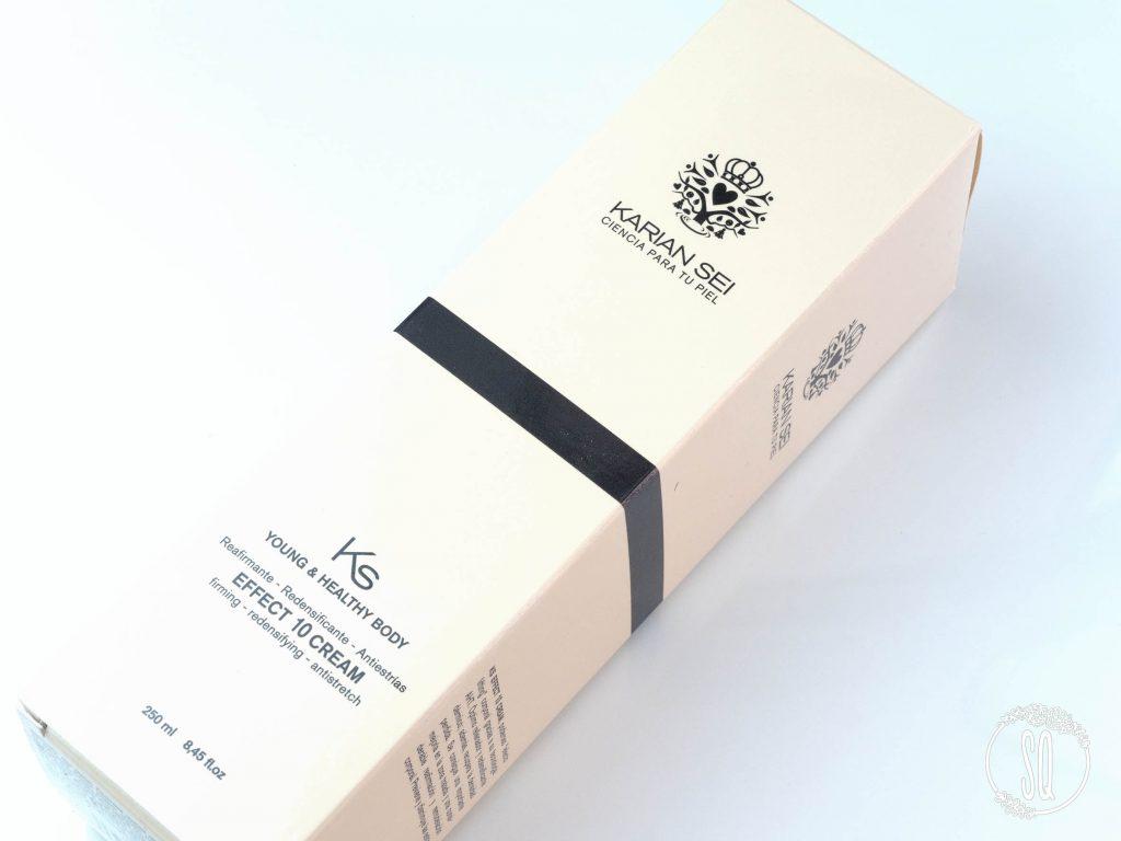 Crema reafirmante y antiestrías Effect 10 cream de Karien Sei