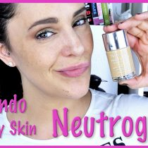 Probando la base Healthy Skin de Neutrogena