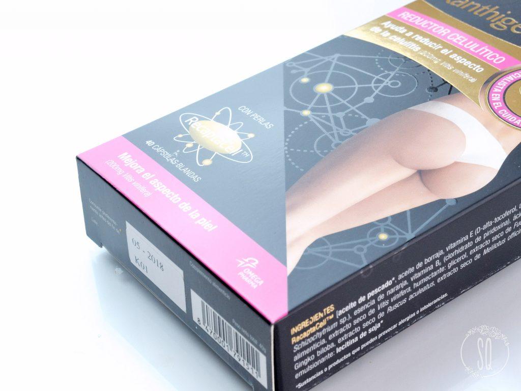 Reductor de celulitis Xanthigen que funciona