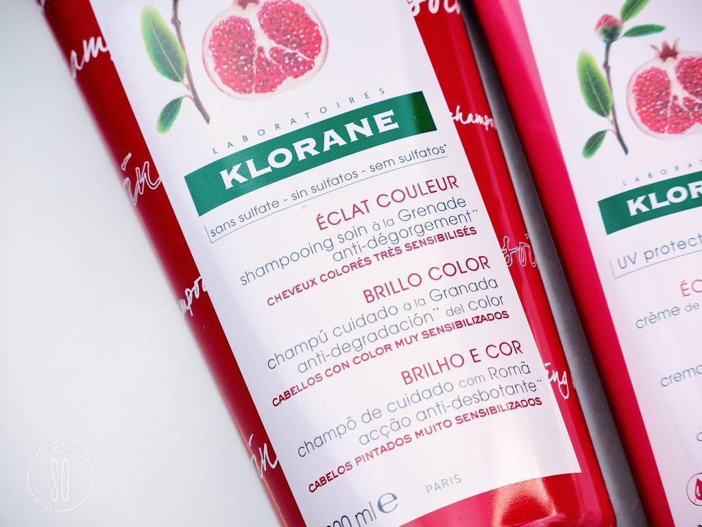 Nueva gama de cuidado de cabello Brillo Color de Klorane