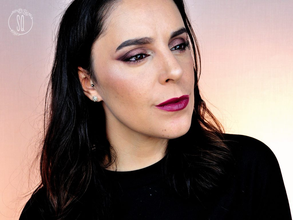 Probando colección Sarah Moon y Velvet Lip Glide de Nars + Tutorial Navidad