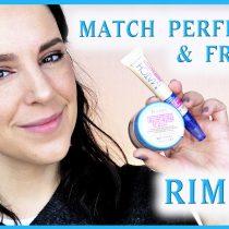 Poniendo a Prueba base Fresher Skin y corrector Match Perfection de Rimmel