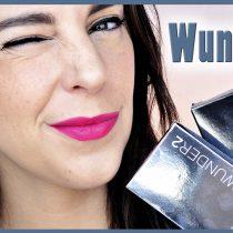 Probando productos de cejas y máscara de Wunder2