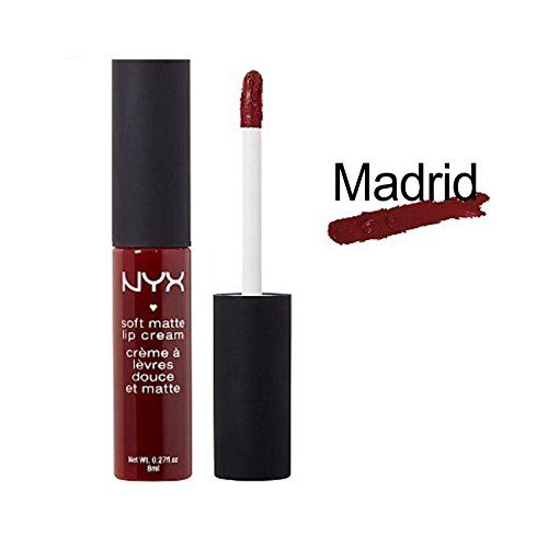 Soft Matte lip cream Madrid Nyx