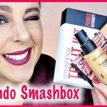 Probando productos de Smashbox