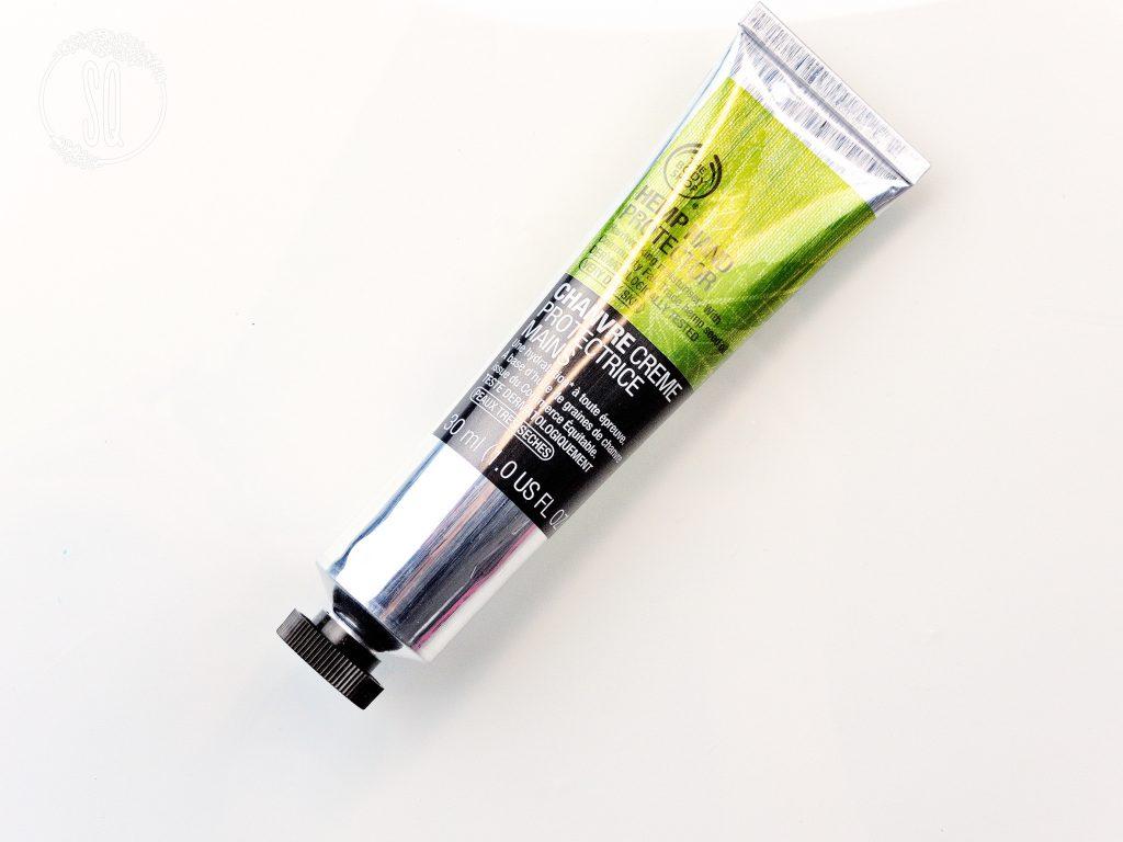 Crema de mano protectora y regeneradora que funciona, Hemp Hand protector de The Body Shop