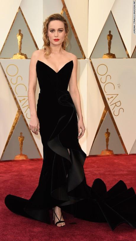 Brie Larson de Oscar de la Renta