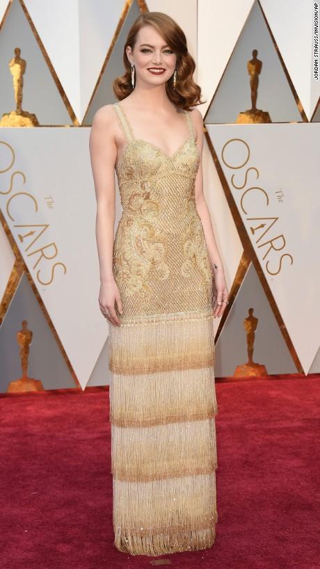 Emma Stone en  Givenchy Haute Couture