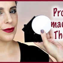 Probando maquillaje de The Body Shop