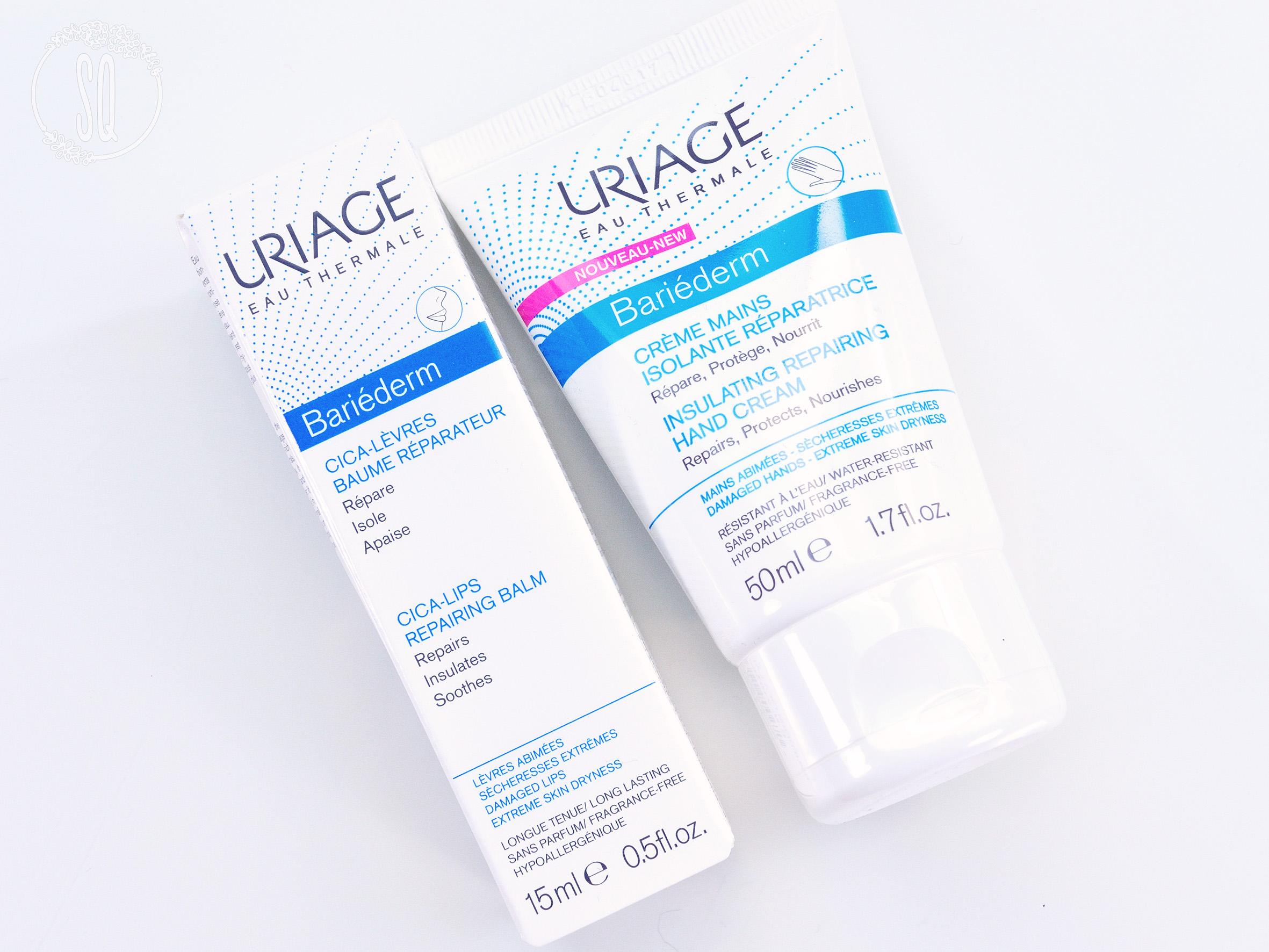 Productos reparadores de la piel Bariederm de Uriage