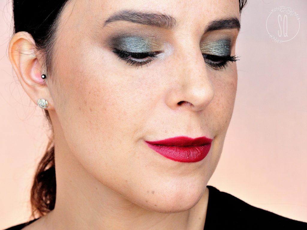 Probando maquillaje de The Body Shop