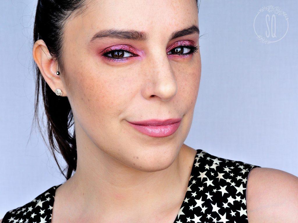Tutorial maquillaje Luz Violeta