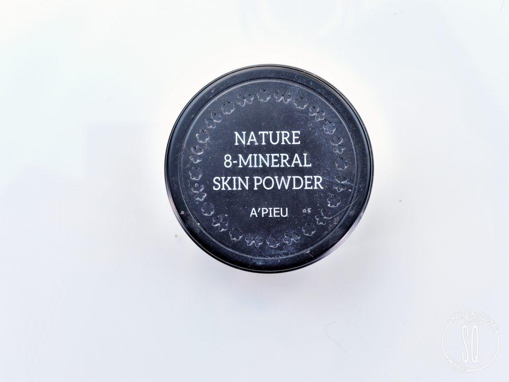 Nature 8 mineral Skin powder A'pieu
