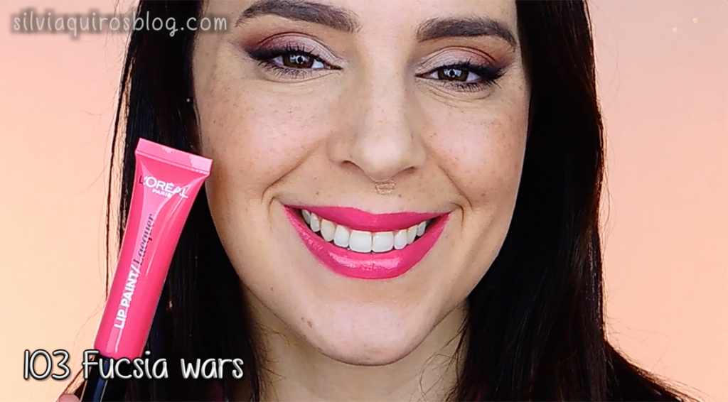 Lip paint 103 Fucsia wars