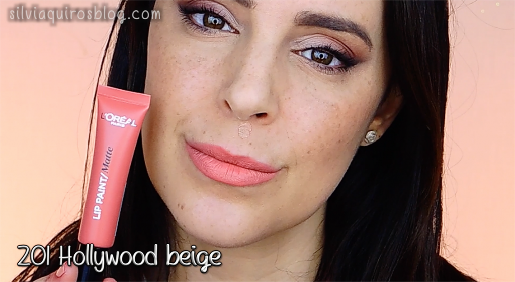 Lip paint 201 Hollywood Beige