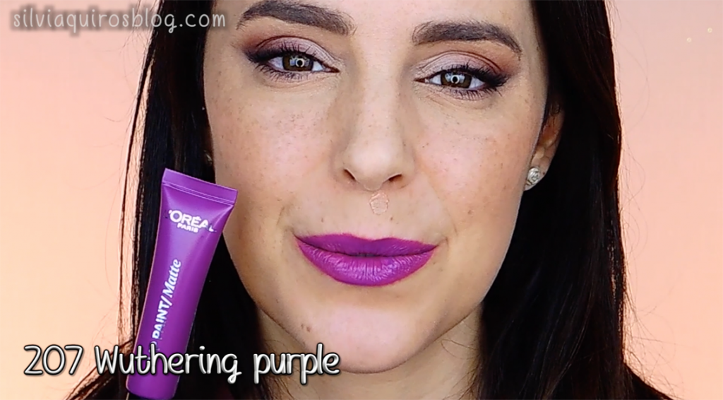 Lip paint 207 Wuthering purple