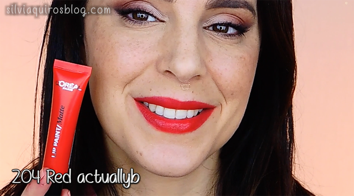 Lip paint 204 Red Actually