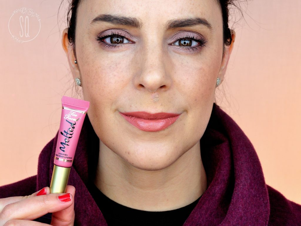 Liquified long wear lipstick Melted Too Faced Chihuahua