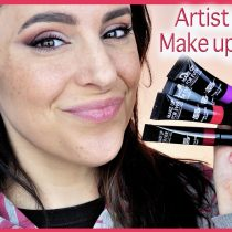 Probando los nuevos labiales Artist Acrylip de Make up For Ever