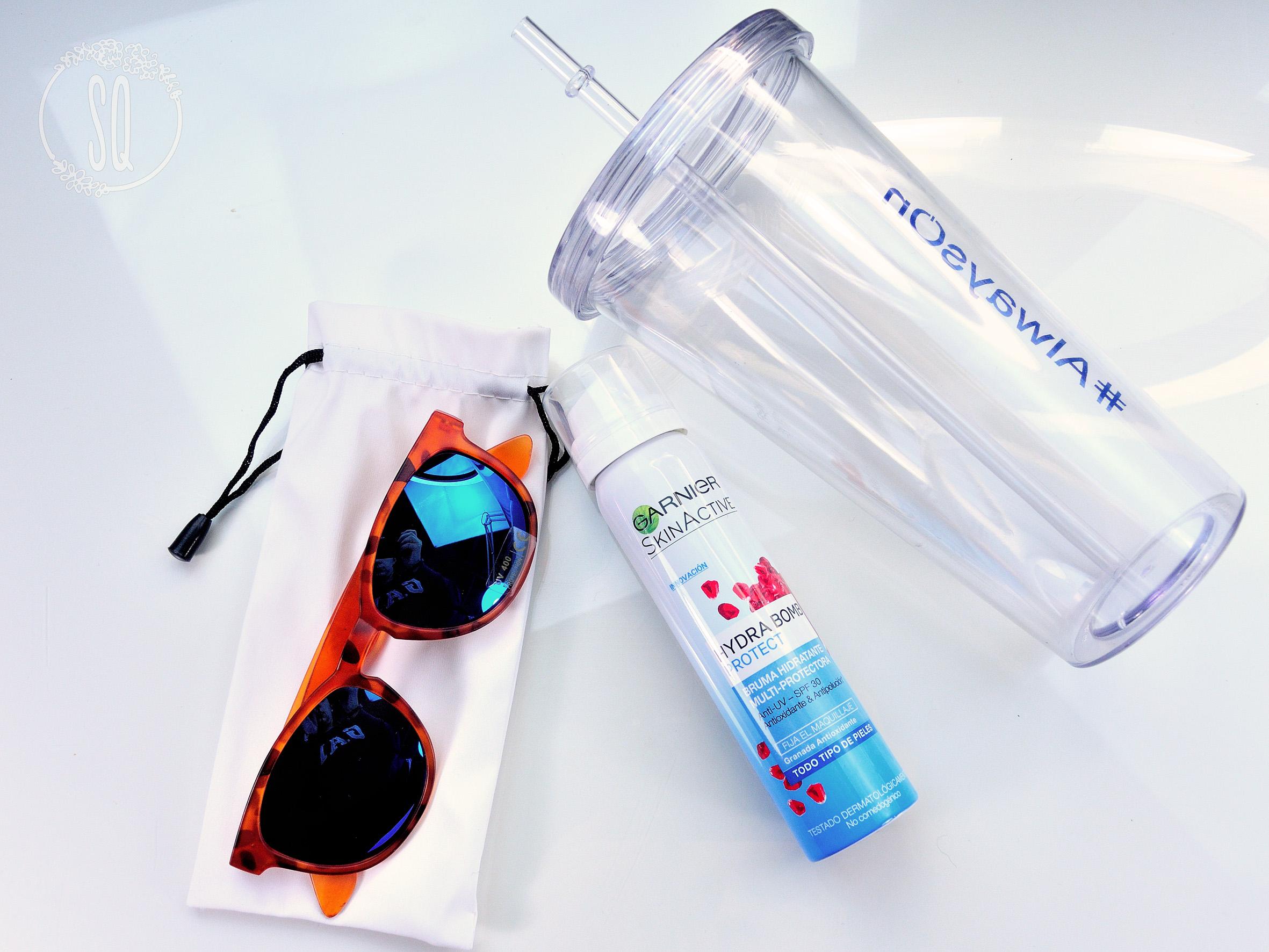 Hydra bomb, hidratación para el verano de Garnier