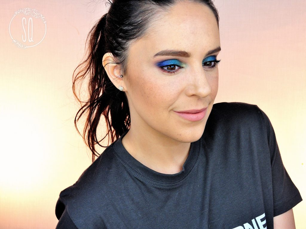 Tutorial maquillaje Amanecer en Azul