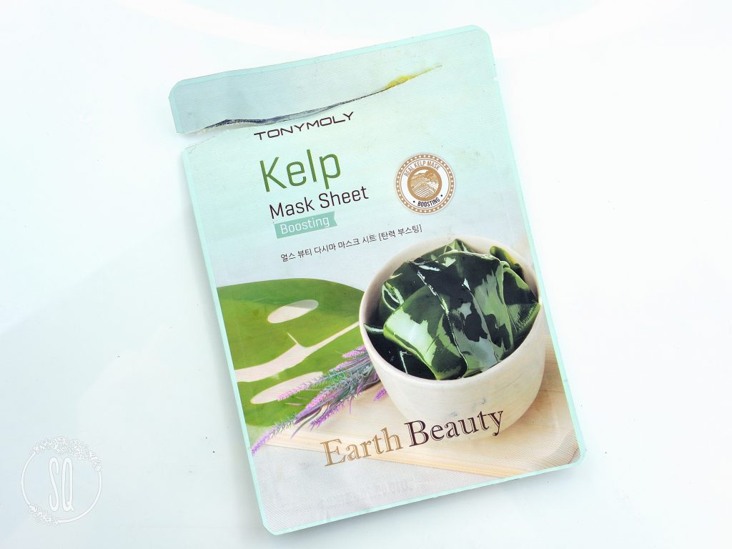 Kelp mask sheet Eath Beauty Boosting TonyMoly
