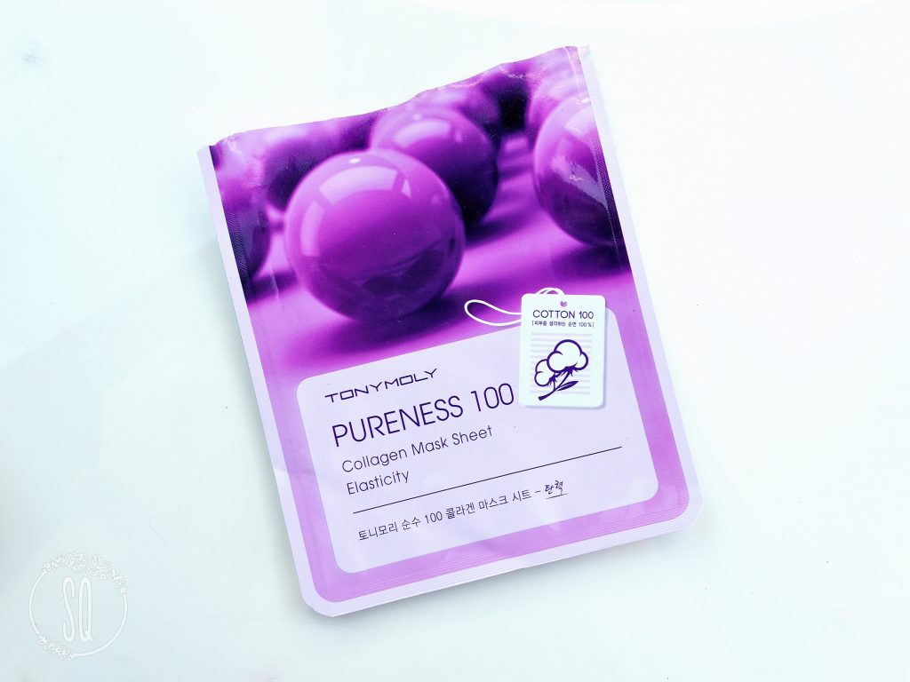 Pureness 100 Collagen mask sheet Elasticity TonyMoly