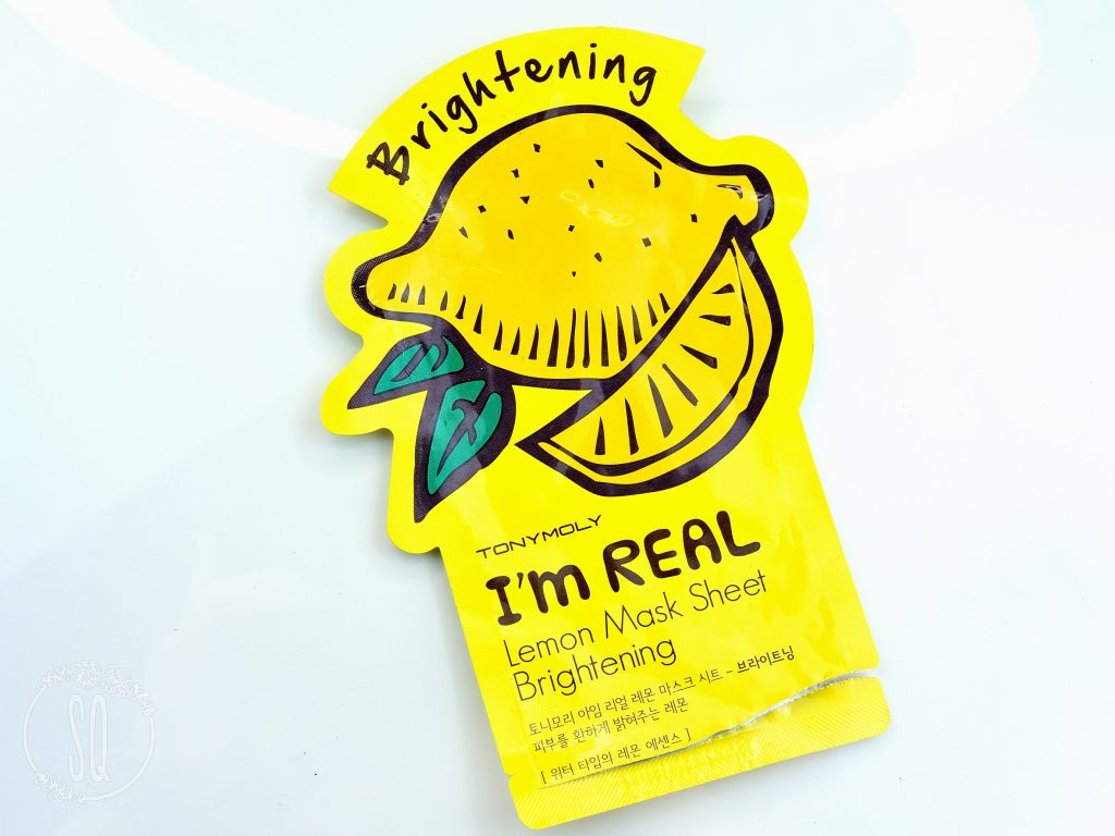I'am Real Leon mask sheet Brightening TonyMoly