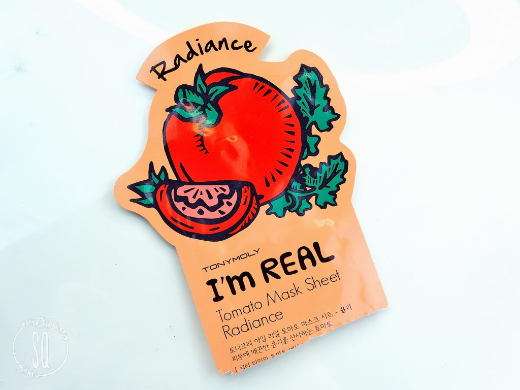 I'm Real Tomate mask sheet radiance TonyMoly
