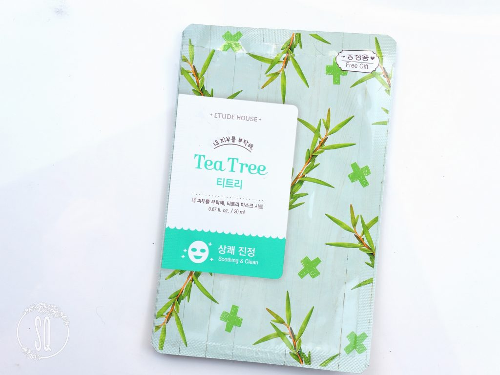 Tea tree shooting & Clean Etude House